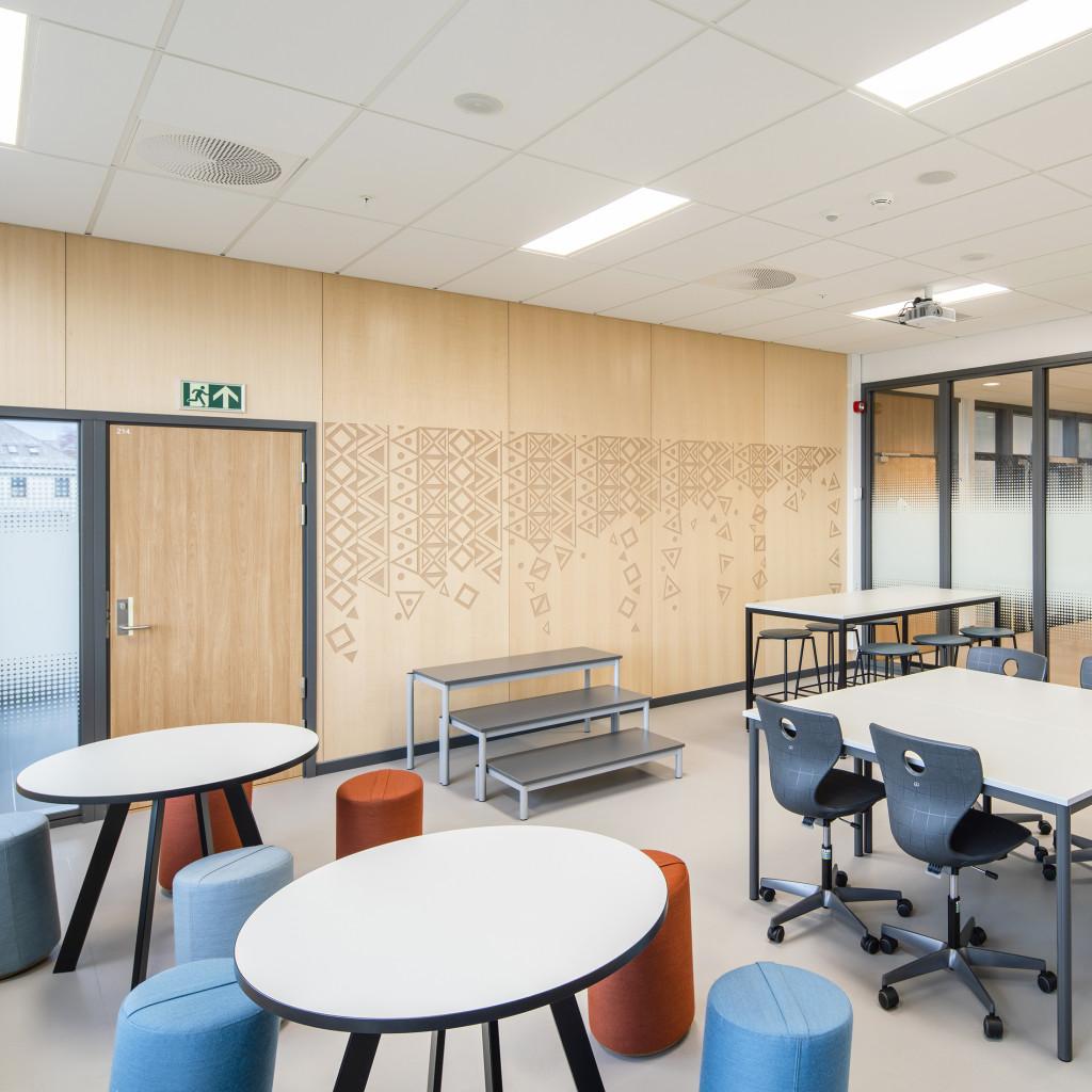 Damsgård Skole Classroom